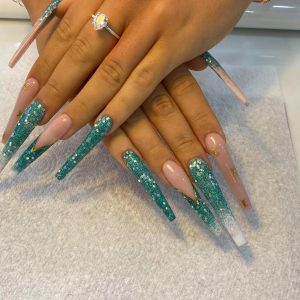 long nail extensions design 2